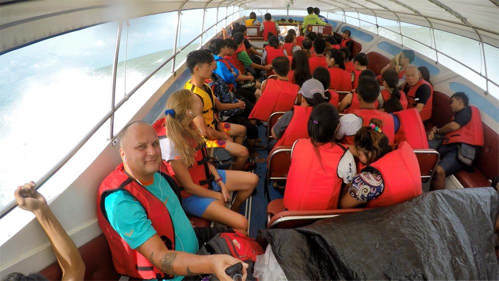 На лодке до Ко Липе