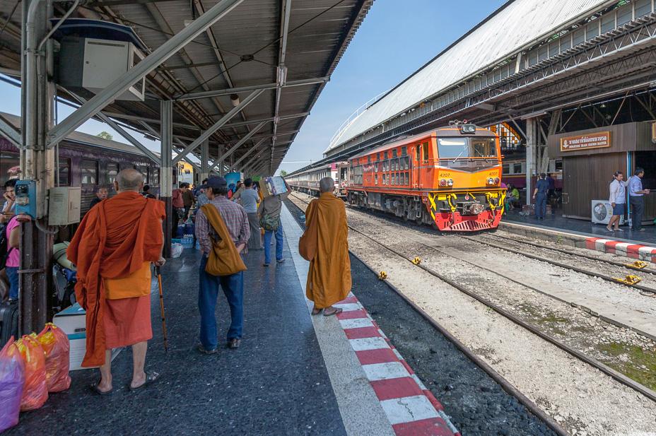 На поезде в Чианграй