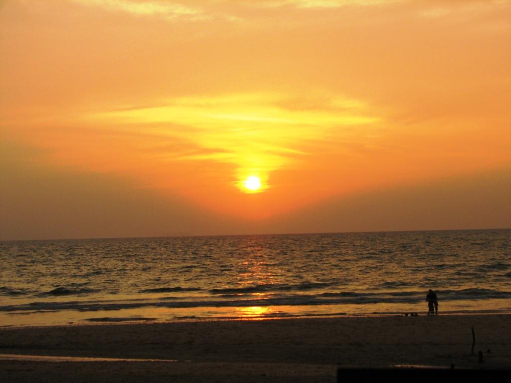 Закат на острове Ланта