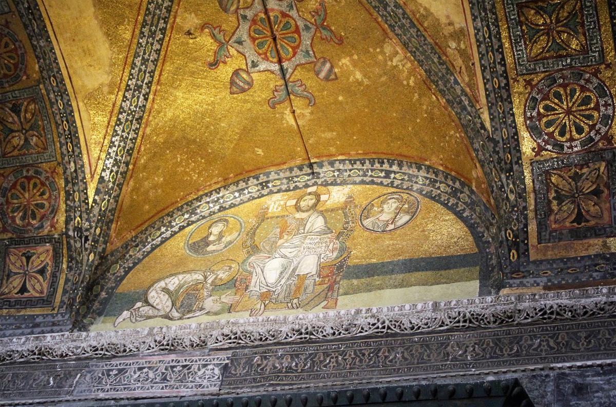 Мозаики и фрески