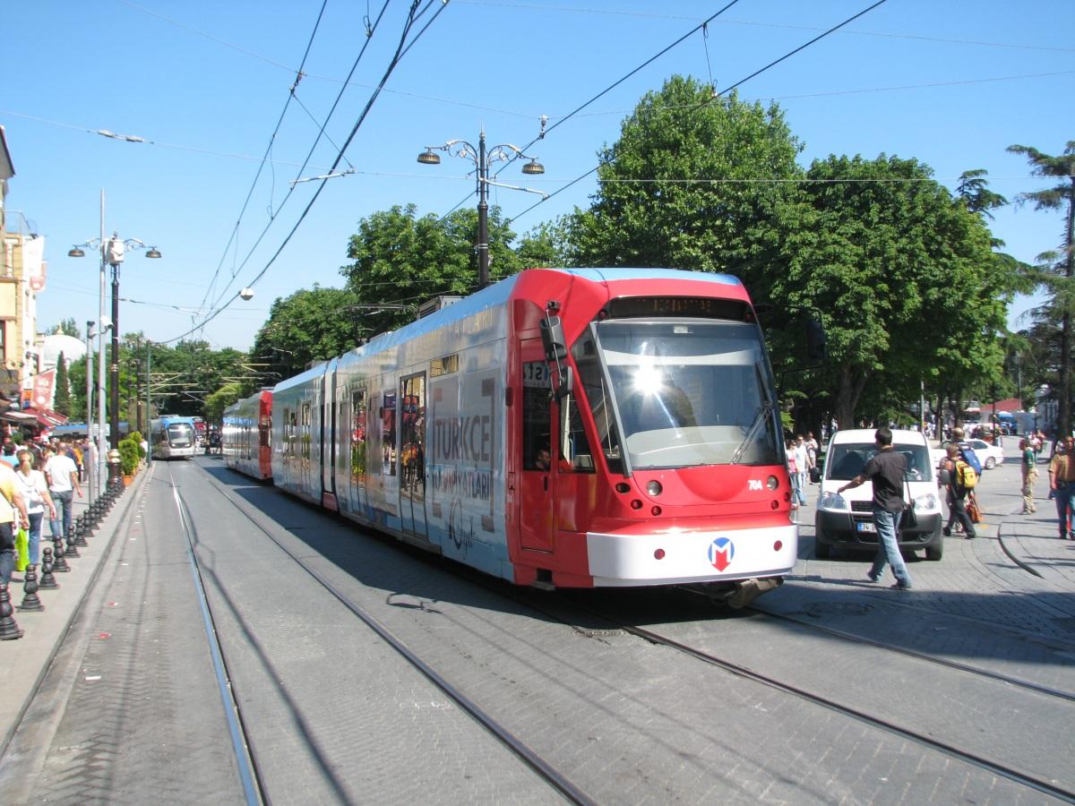 Трамвай линии Т 1