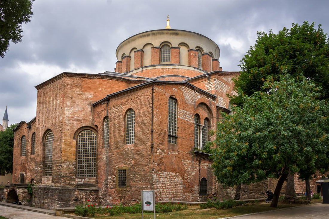 Церковь Святой Ирины 532 года