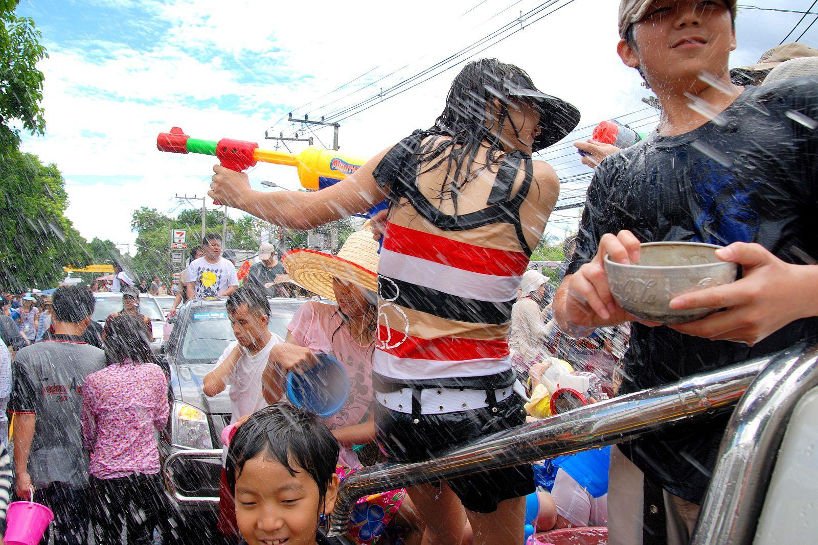 Тайский Новый Год на Самуи