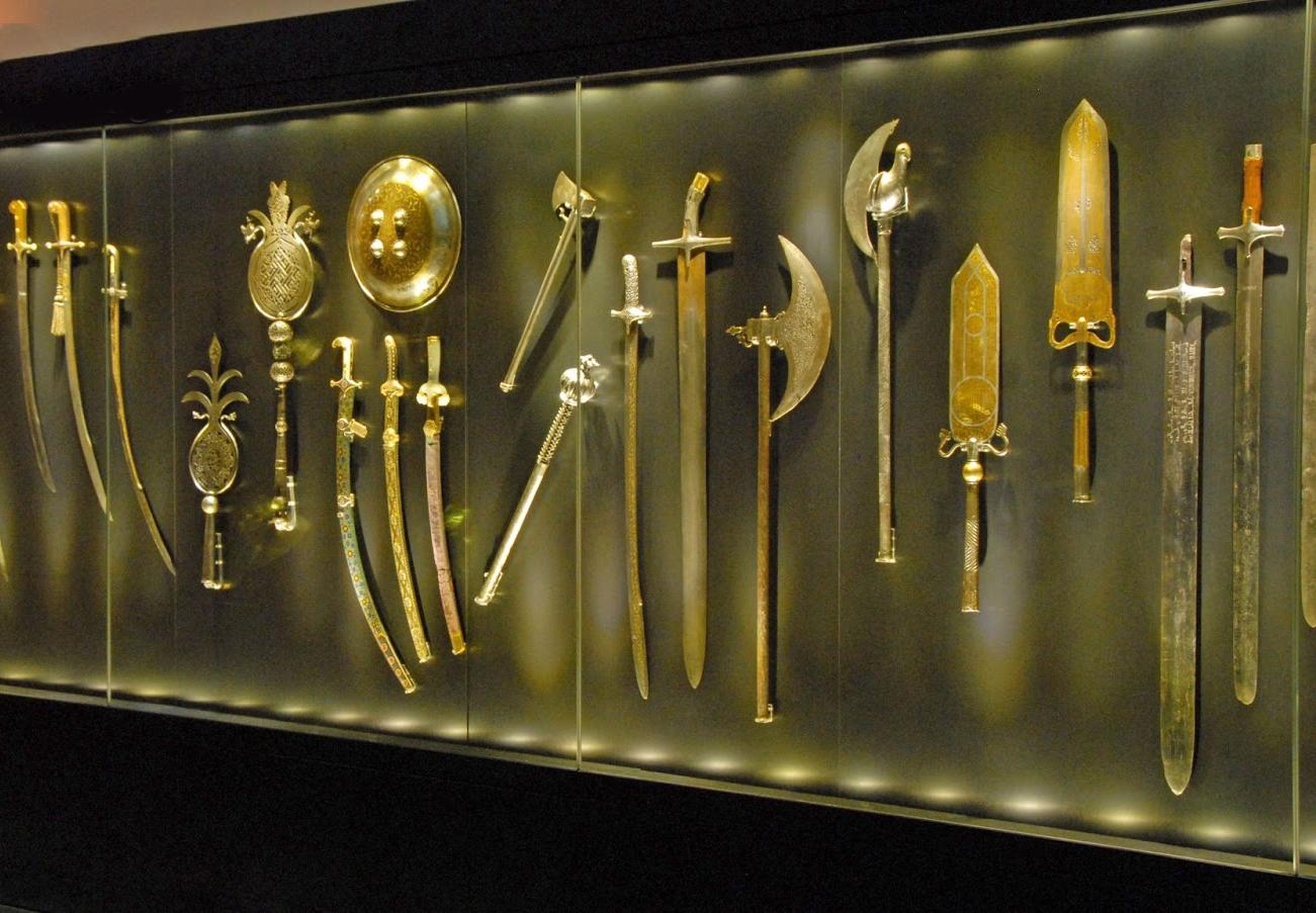 Оружие в галерее