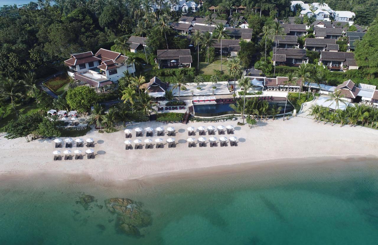 Отель Anantara Lawana Koh Samui Resort
