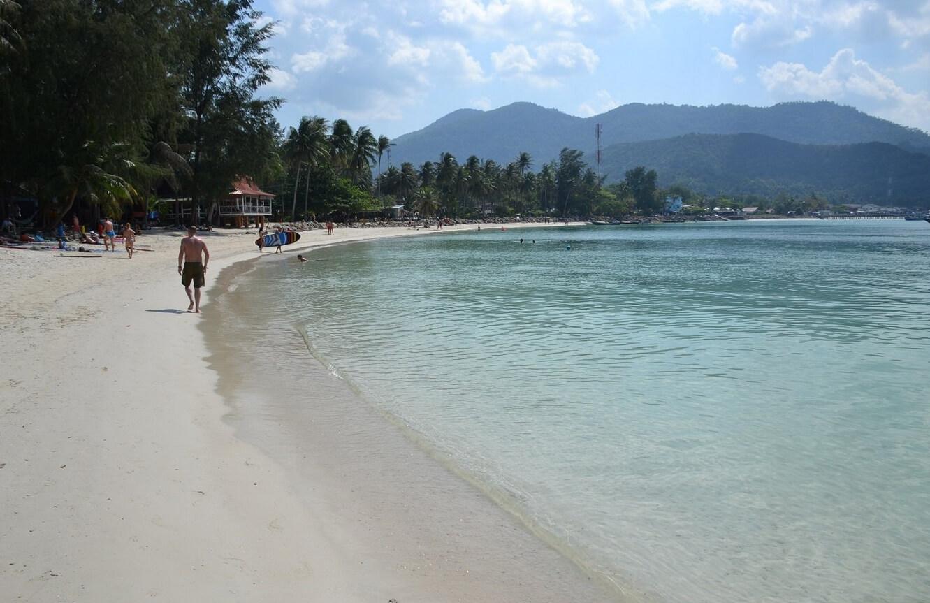 Пляж Ao Chaloklum Bay