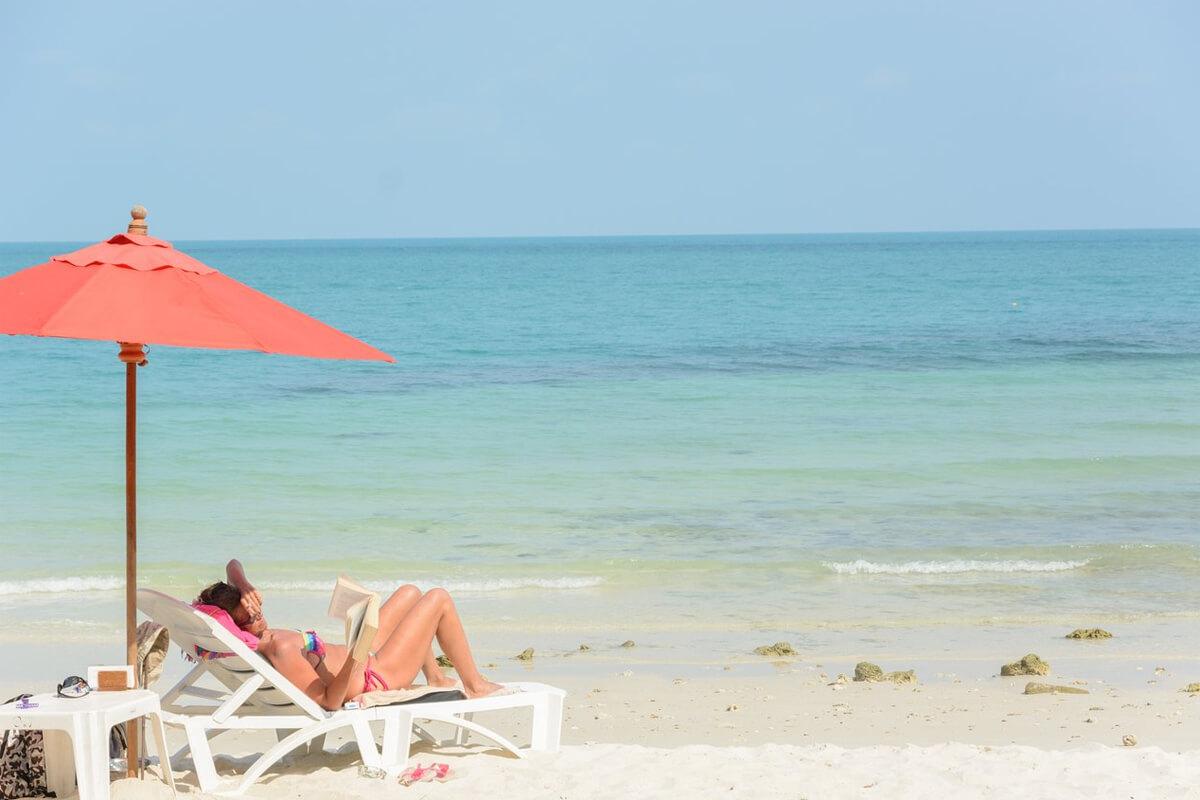 Пляж отеля Ao Cho Hideaway Resort