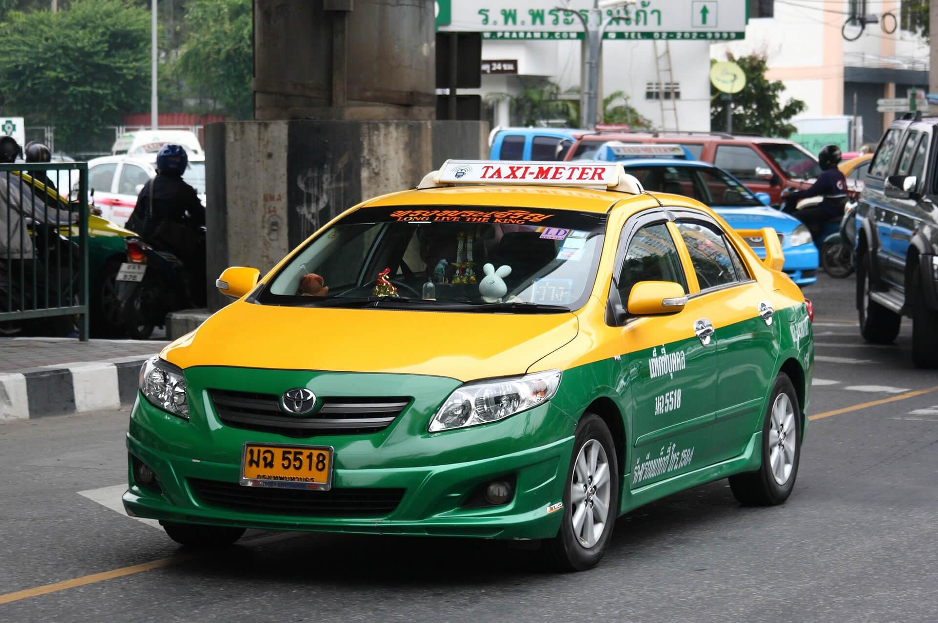 Такси из любого уголка Бангкока