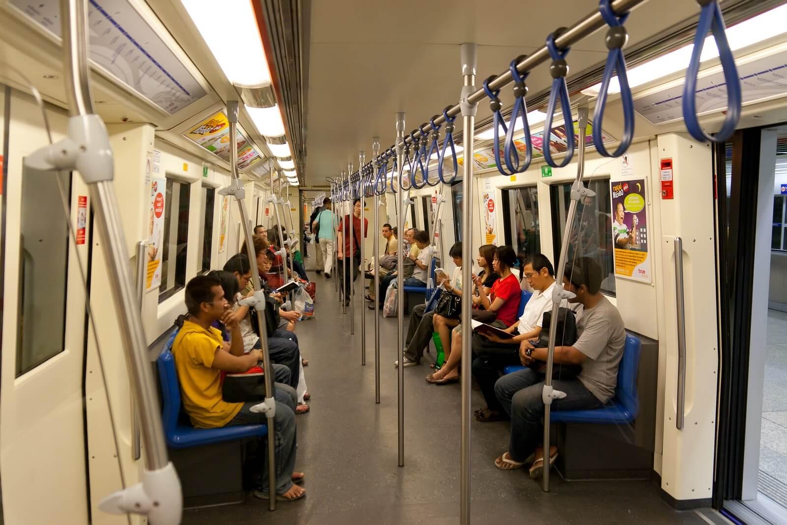 Правила проезда в MRT