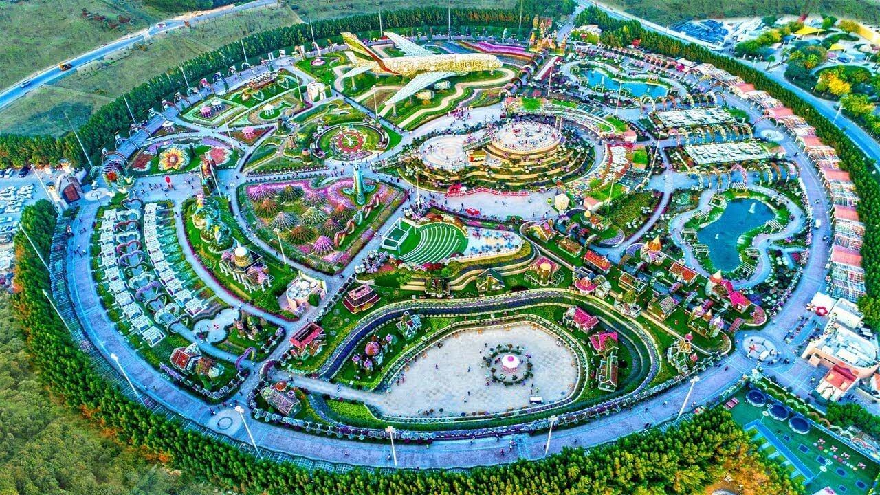 Территория Miracle Garden