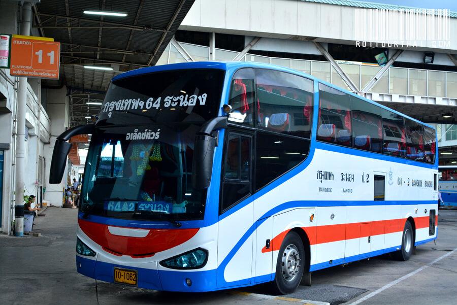 Автобусом от автовокзала Экамай