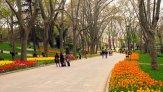 Сочные ландшафты старейшего парка Гюльхане в Стамбуле