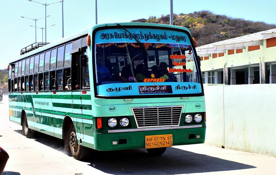 Автобус в Чианграй