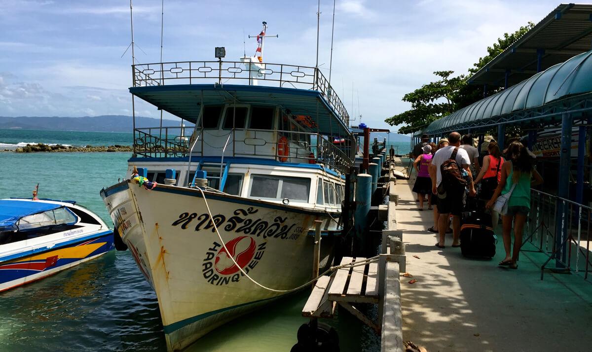 Паром Haad Rin Queen Ferry
