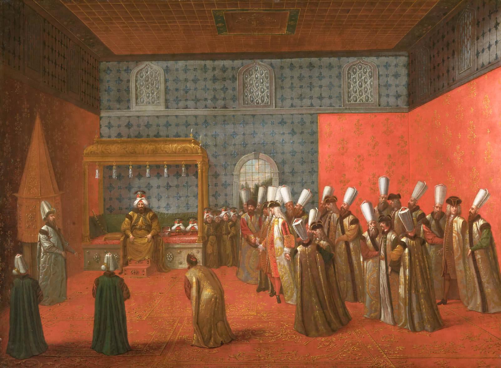 Прием у Ахмеда III
