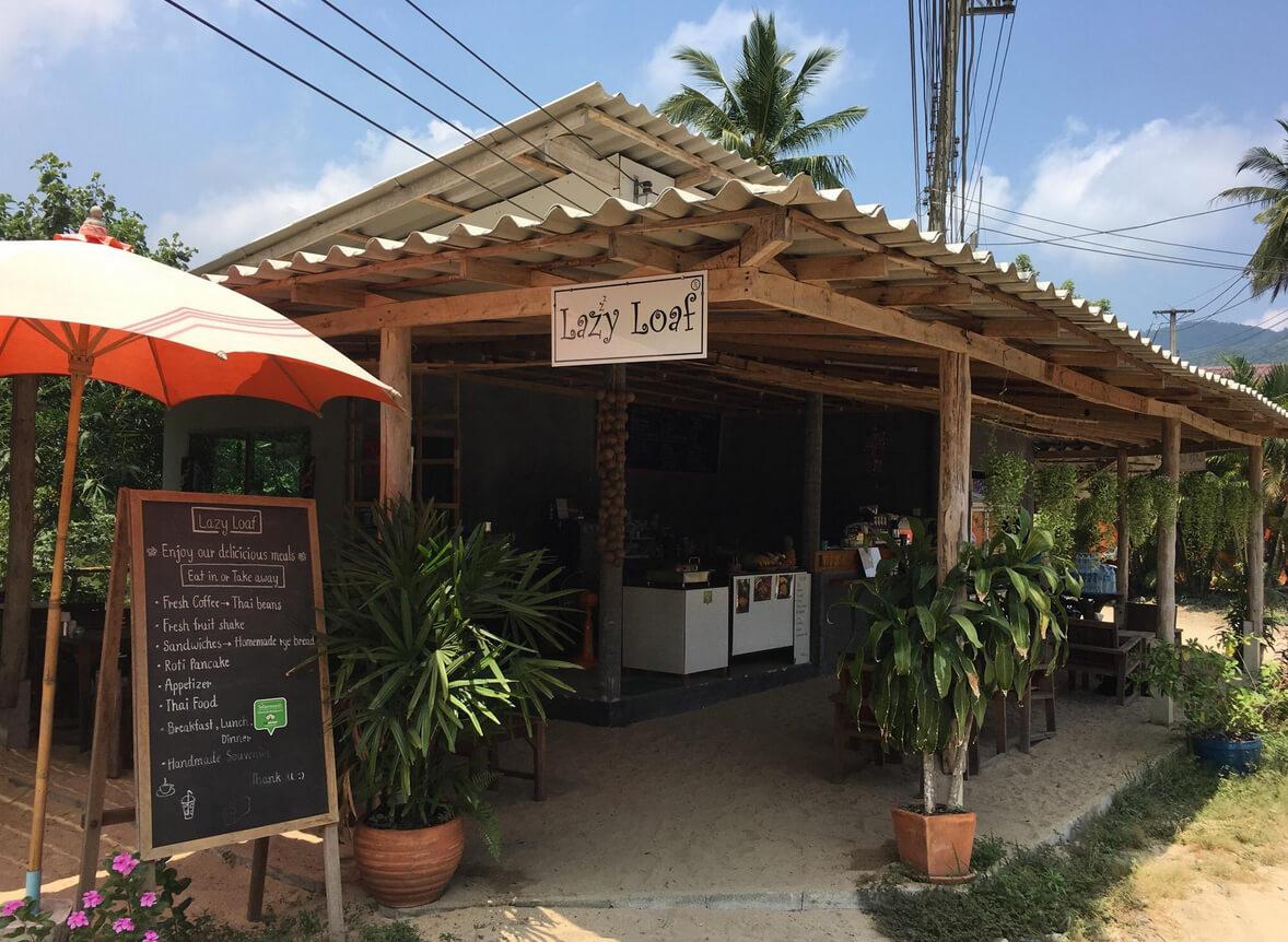 Кафе на пляже Конг Кои