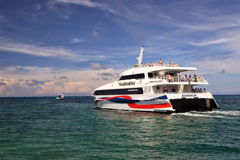 Скоростные варианты лодок компании Lomprayah