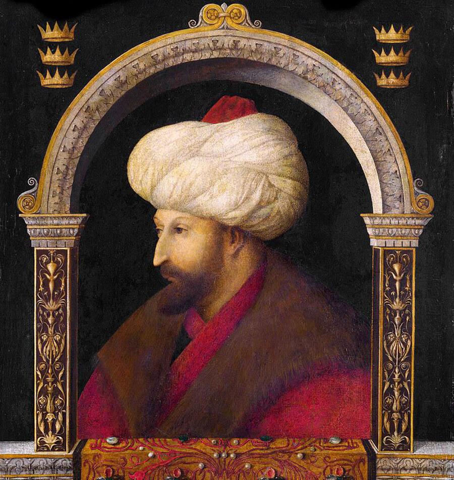 Портрет Мехмеда Завоевателя