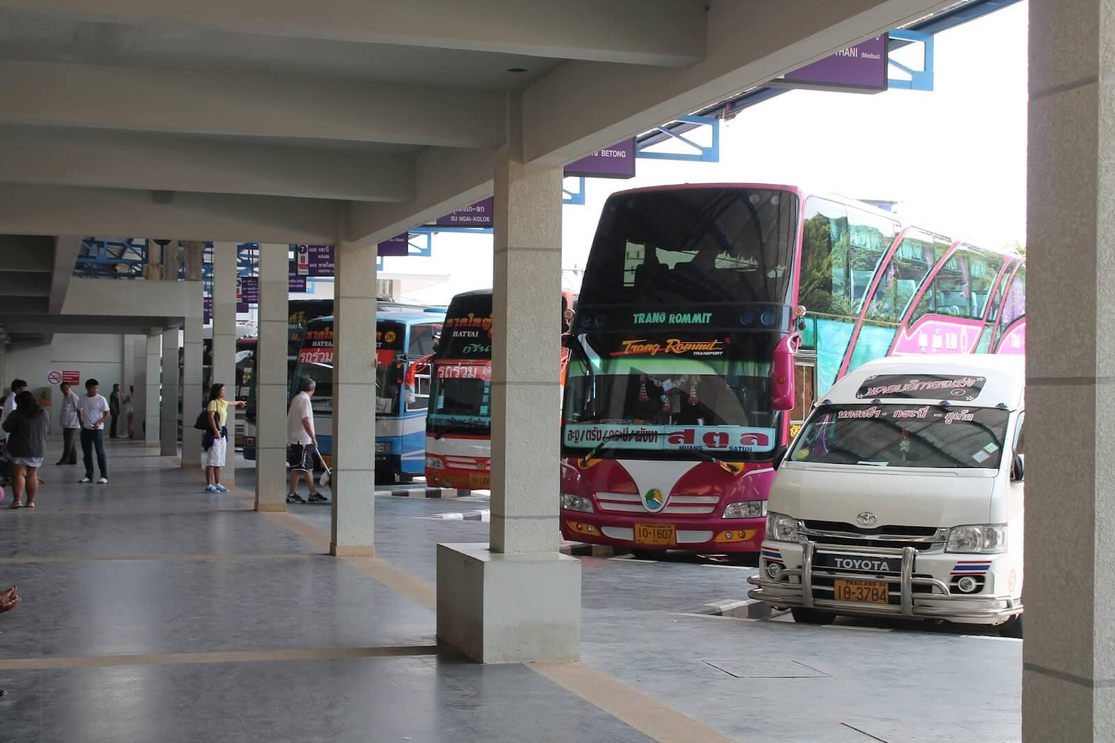 Автобусом из Пхукета до Панган