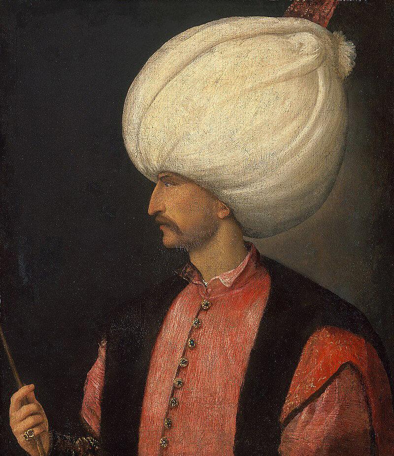 Портрет Сулейман I