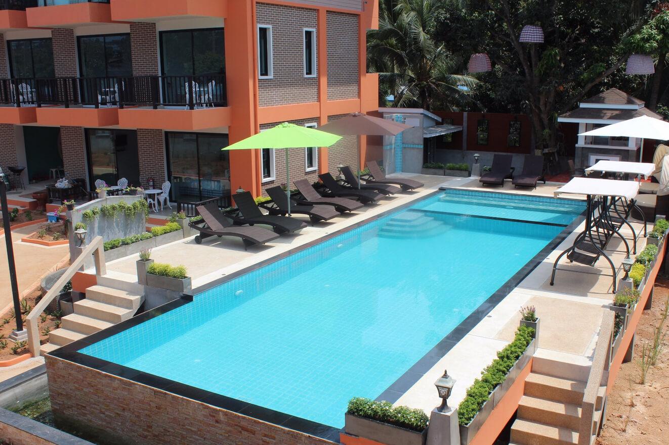 Отель The Spa Garden