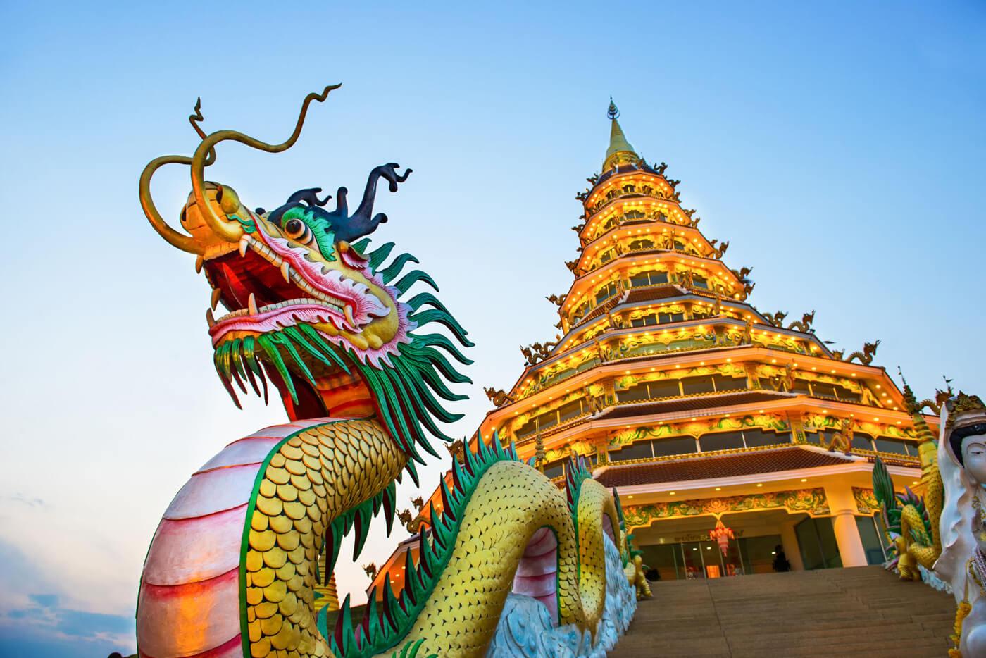 Храм Wat Huai Pla Kung