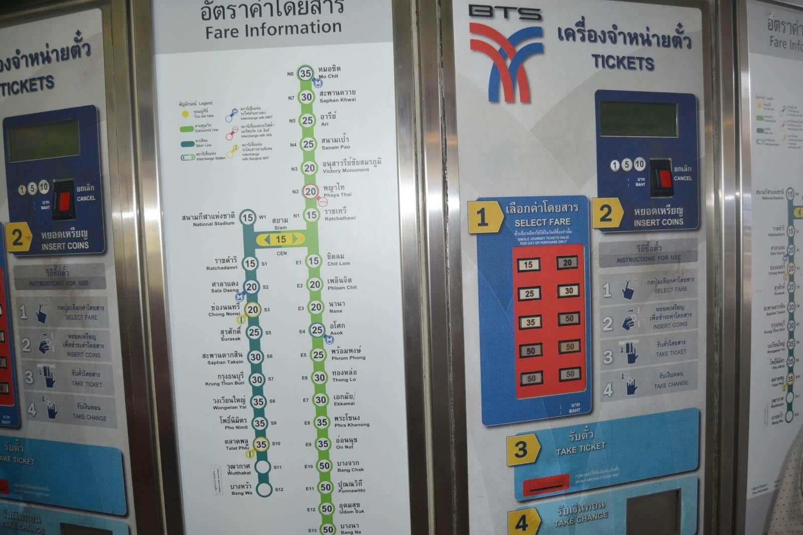Автоматы с жетонами для наземного метро