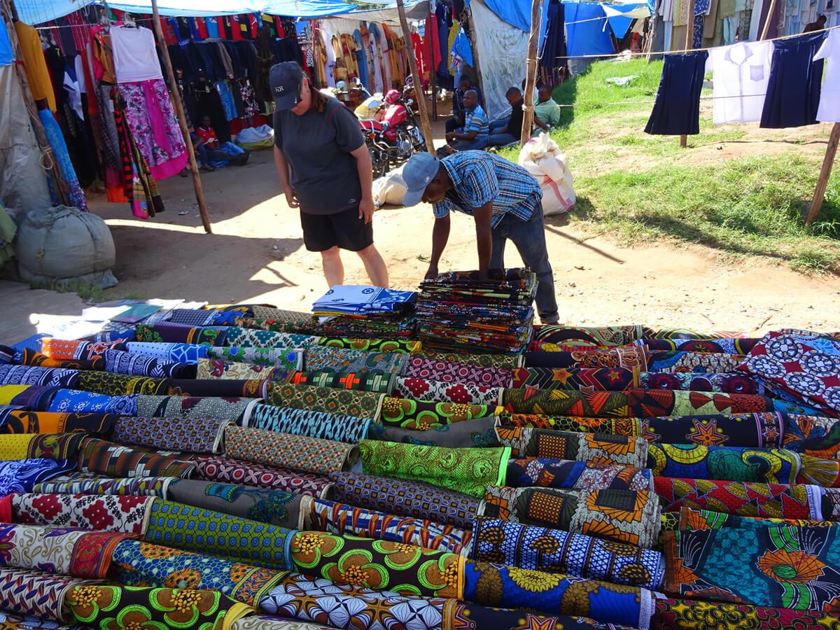 Ткани изготовленные в Танзании