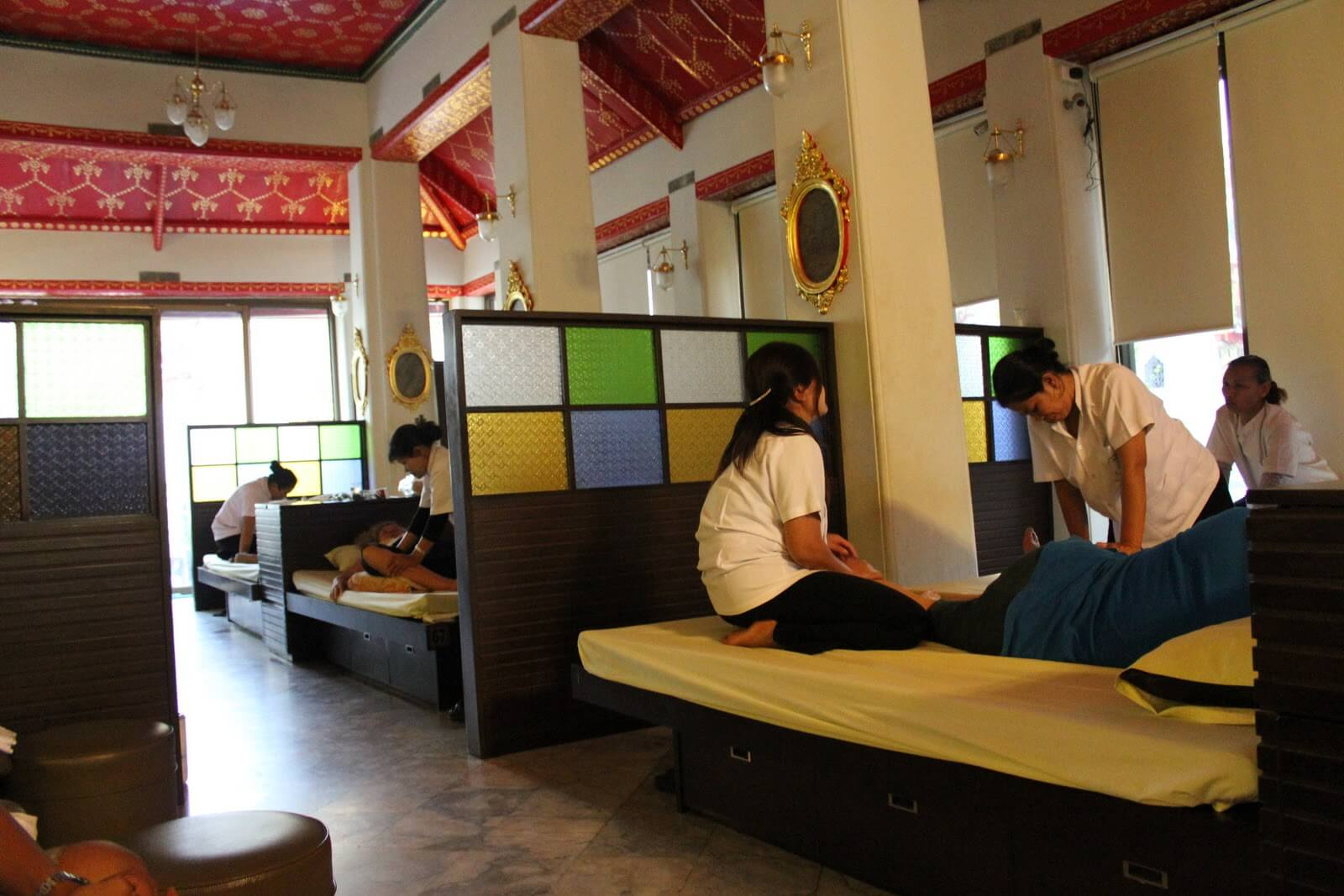 Можно сделать тайский массаж