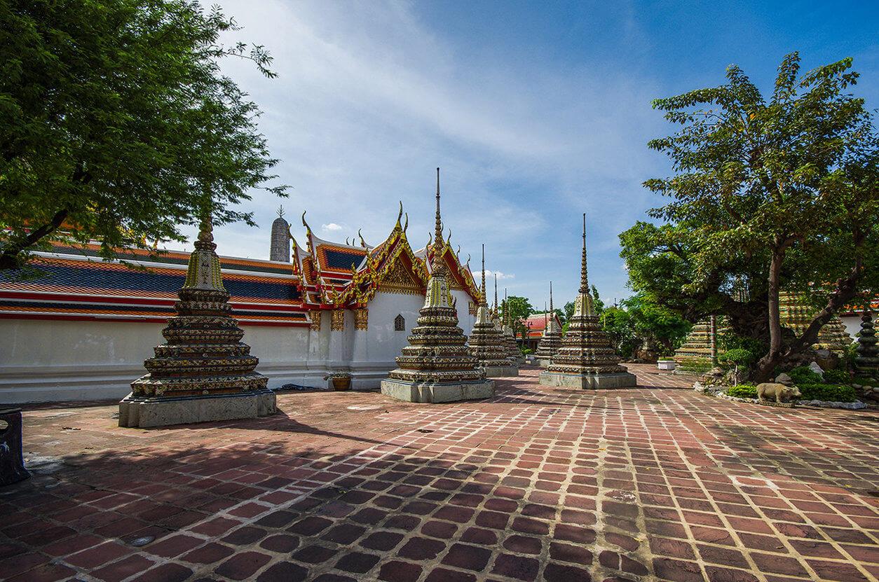Прогулка территорией Ват Пхо