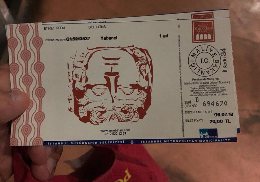 Билеты в Цистерну Базилика