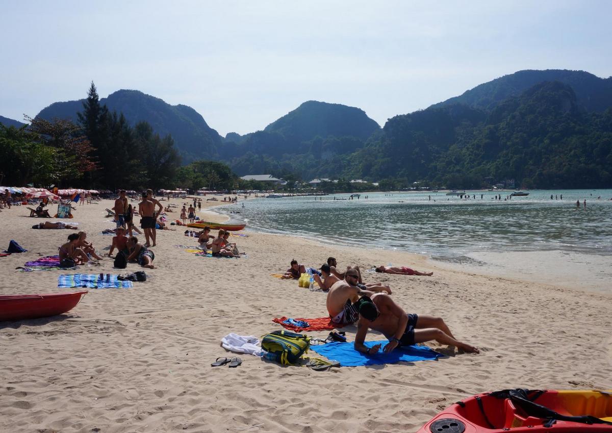 Пляж на острове Пхи-Пхи-Дон