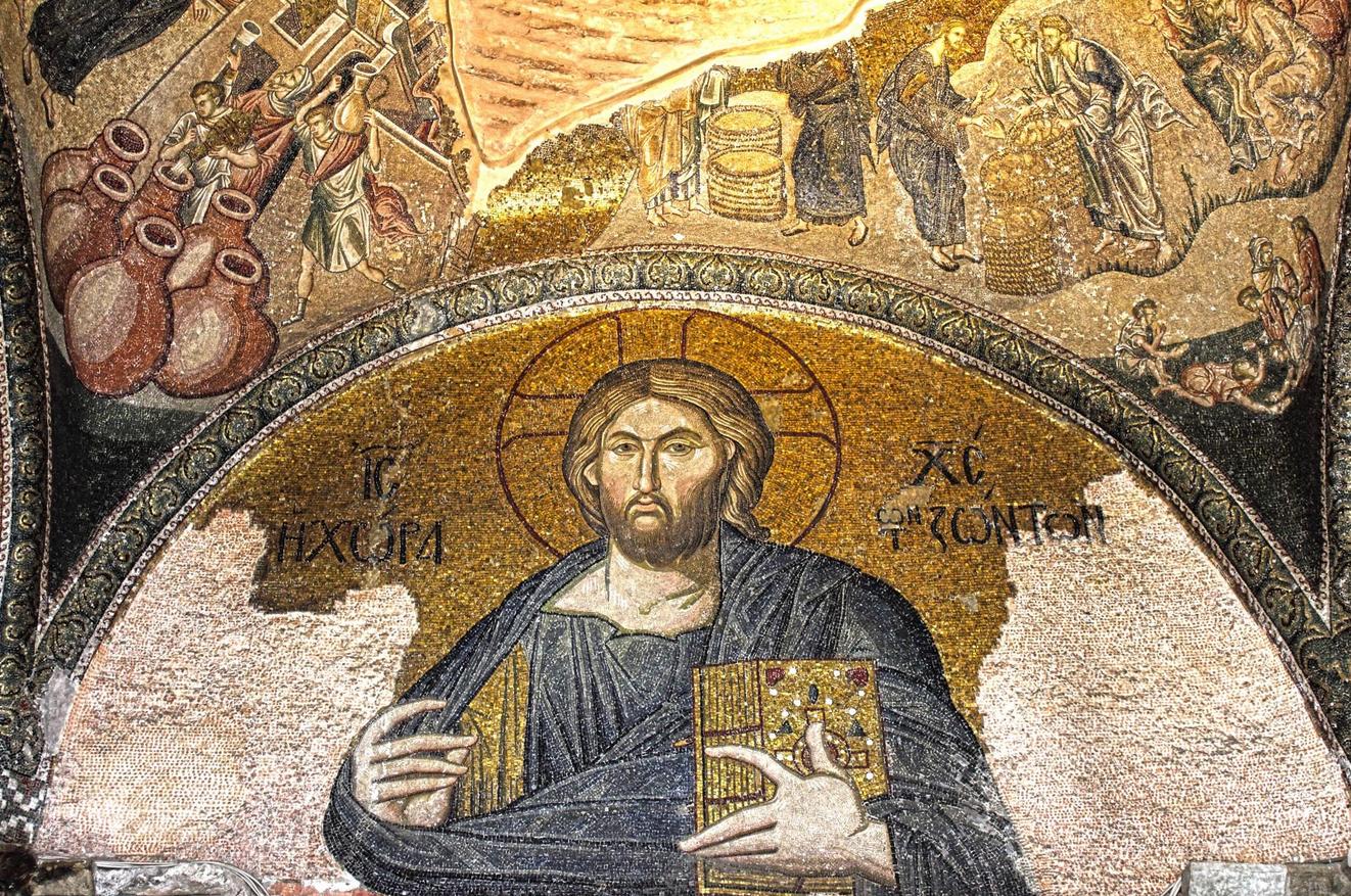 Мозаики в церкви Хора