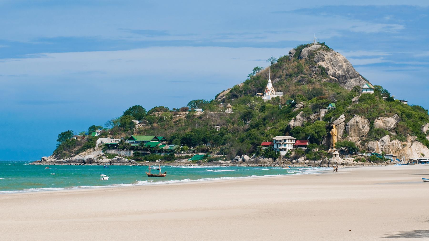 Южный участок городского пляжа Хуахина