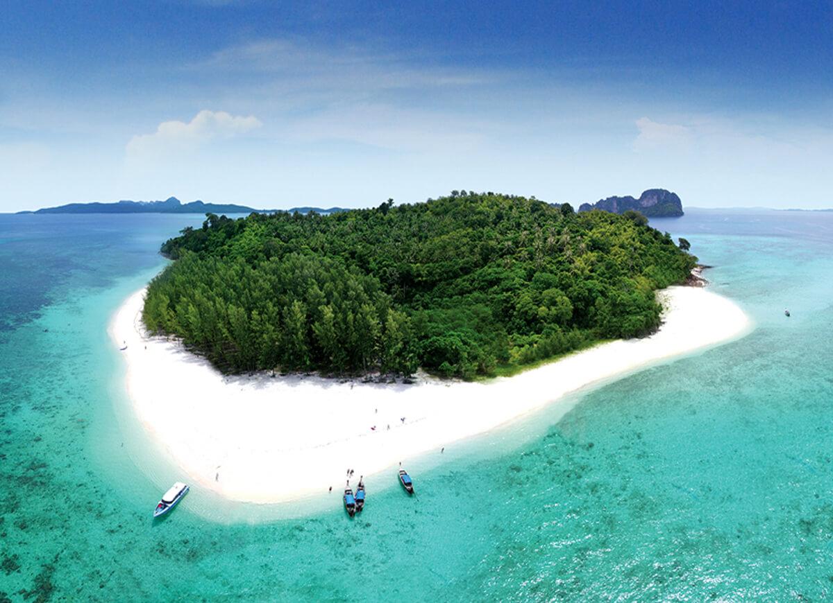 Остров Бамбу небольшой