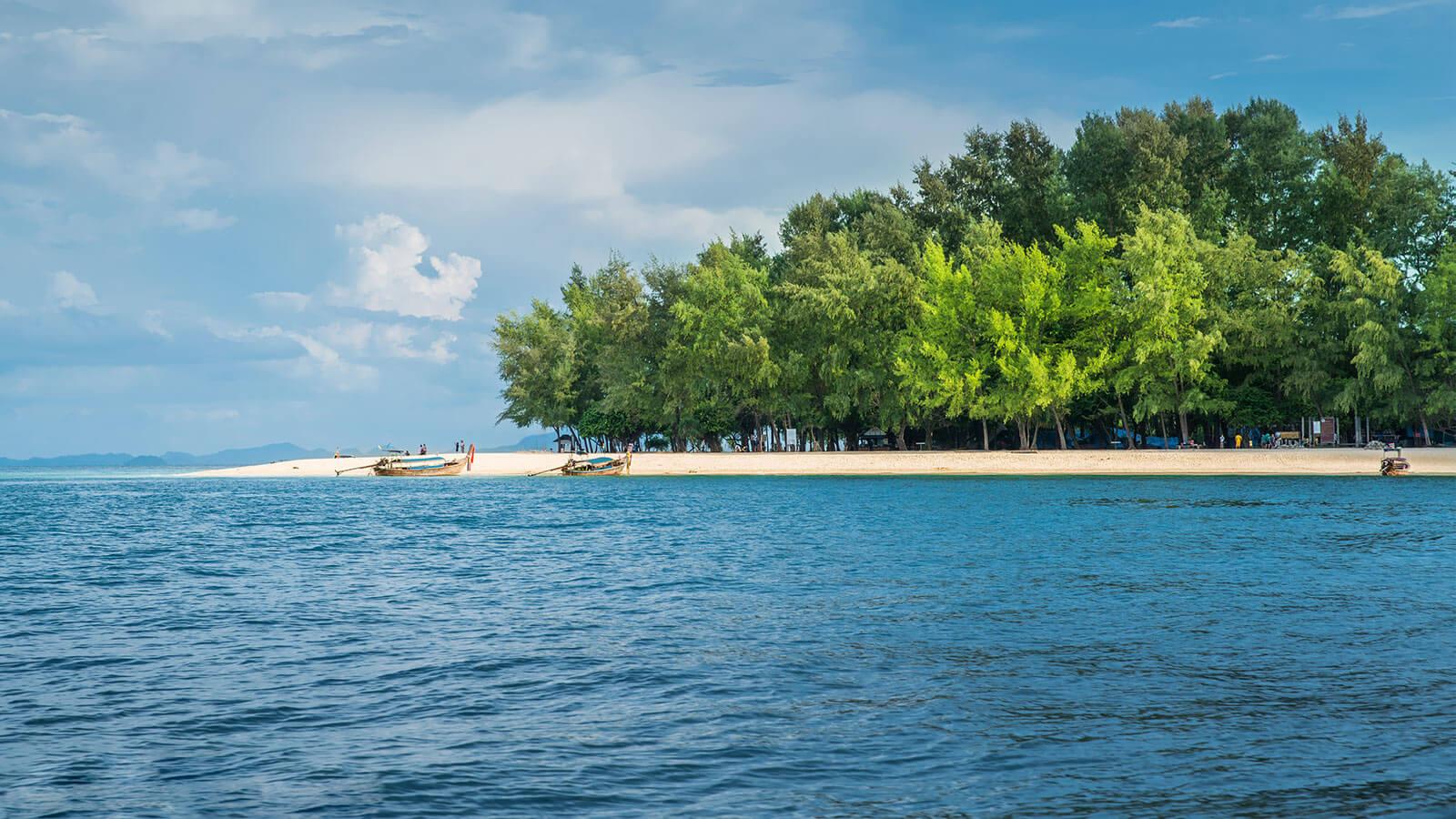Необитаемый остров Бамбу