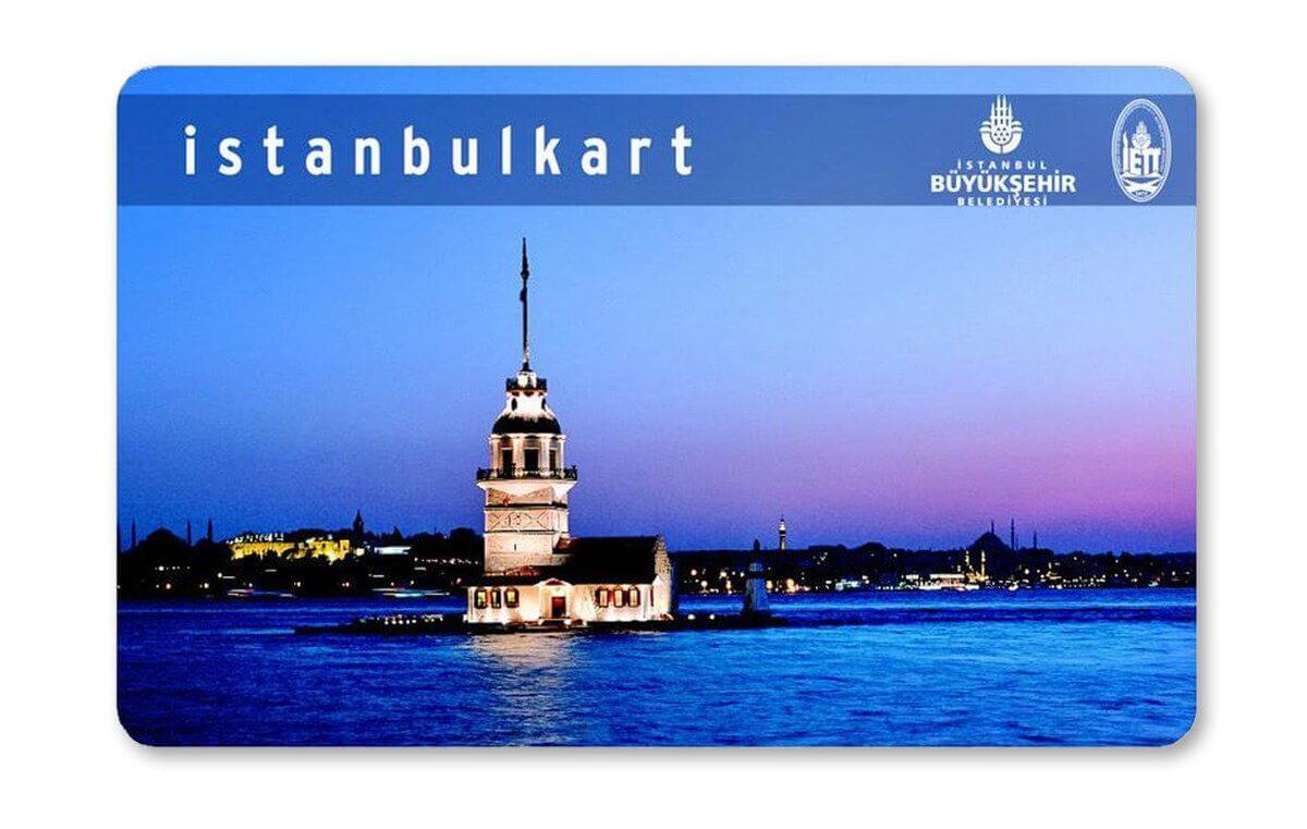 Электронная карта Istanbulkart