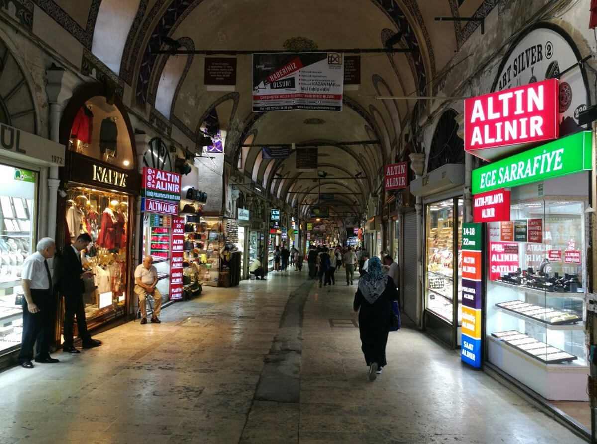 Фото Гранд базара в Стамбуле