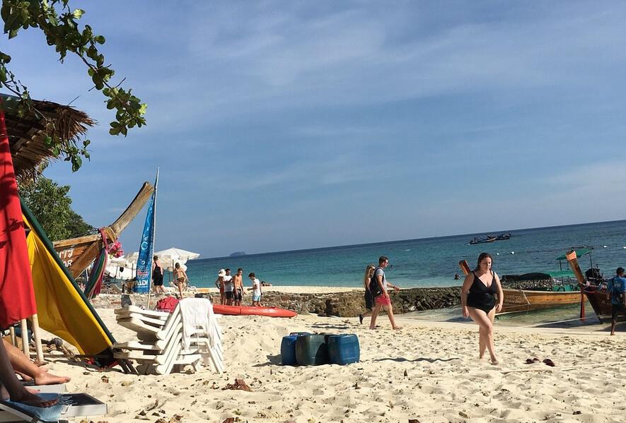 Пляж Long Beach