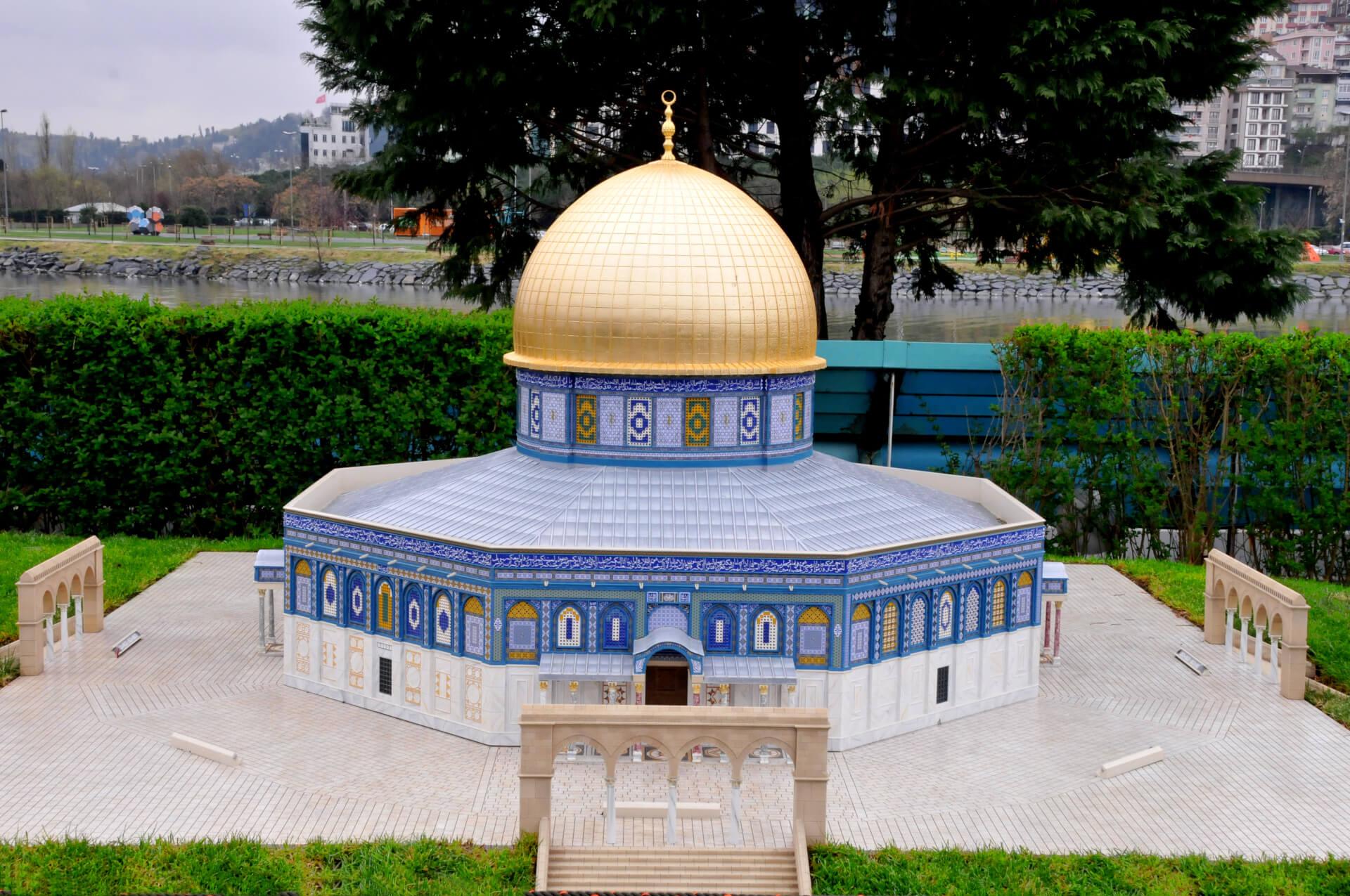 Исламский храм «Купол скалы»