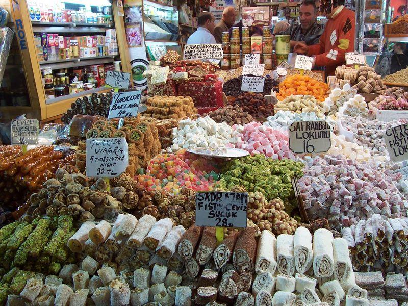 На рынке Стамбула