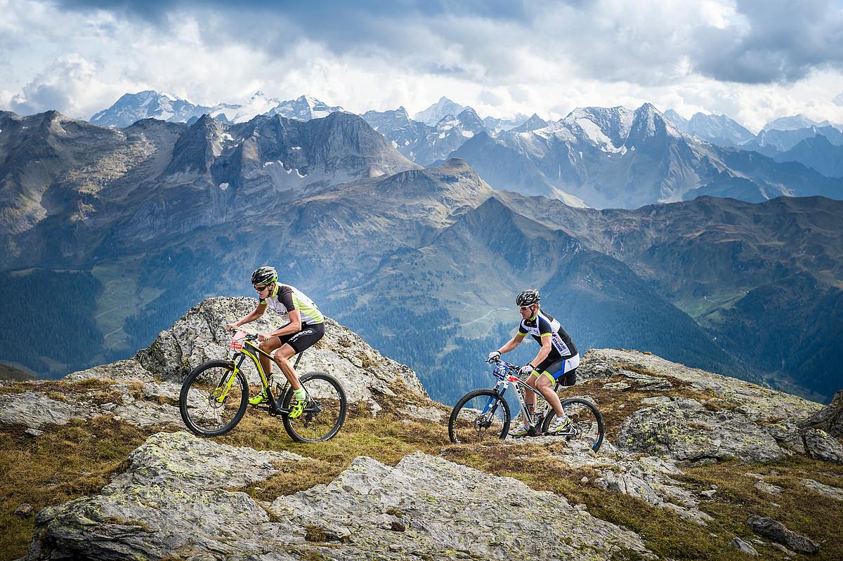 Велосипедные дорожки в Zillertal