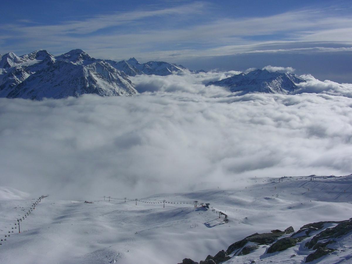 Высока облачность в Зёльдене