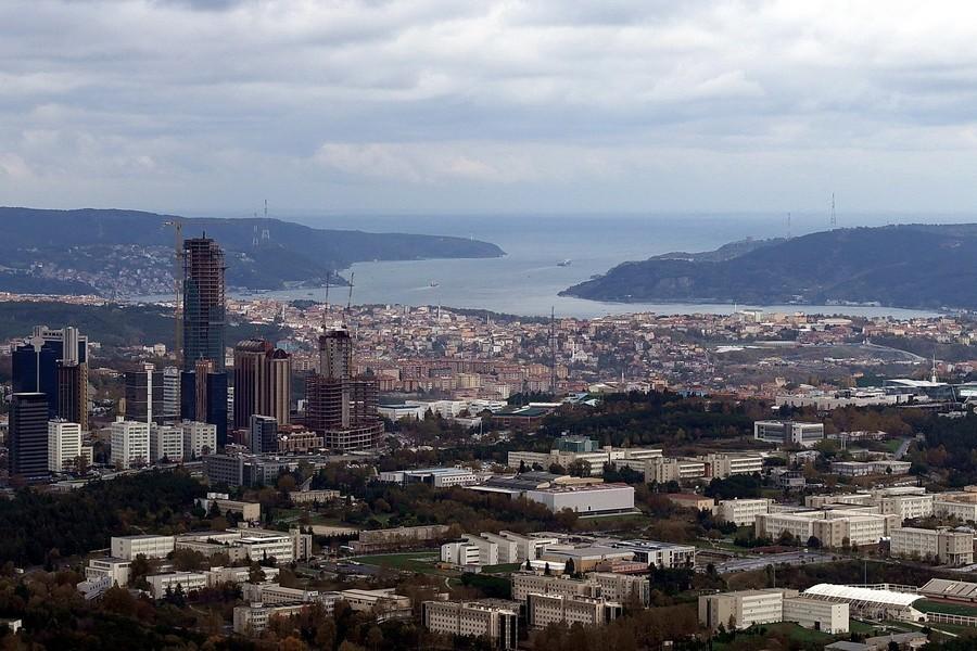 Выход Босфора в Черное море