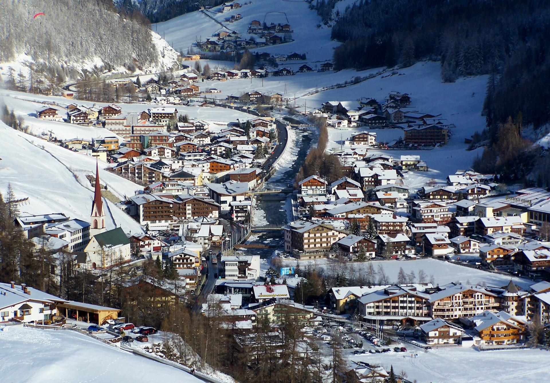 Зельден – горнолыжный курорт