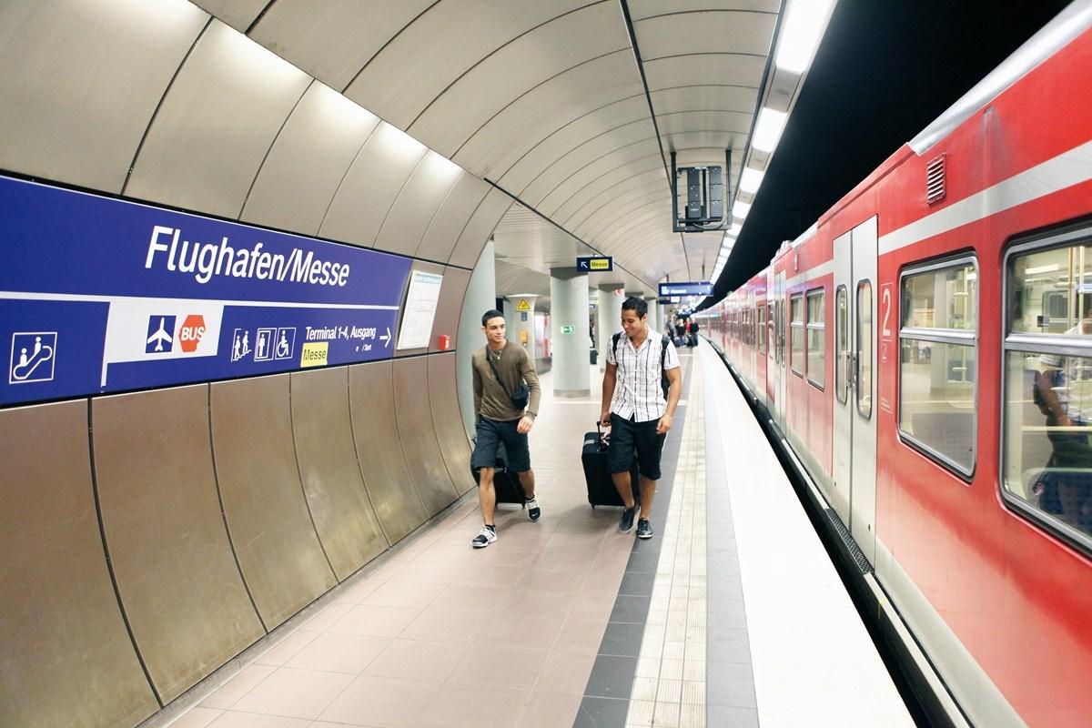 Поезд до железнодорожного вокзала