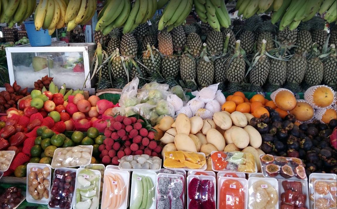 Продуктовый рынок Ромпо в Паттайе