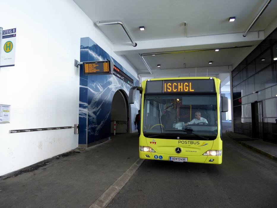 Автобус в Ишгль