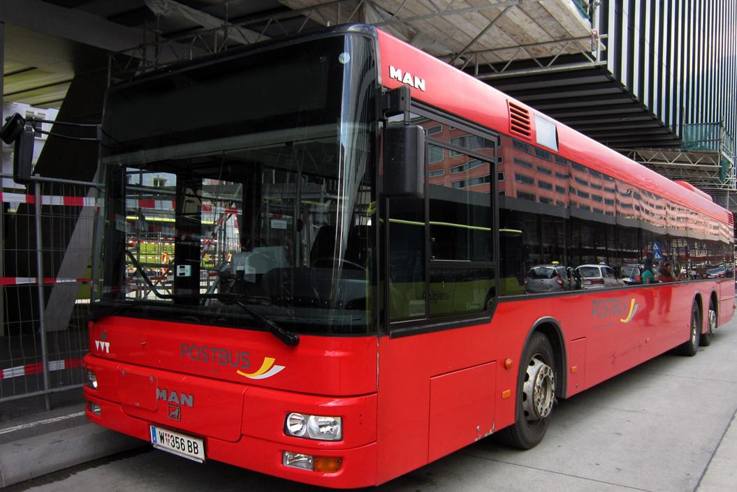 Автобус до Инсбрука