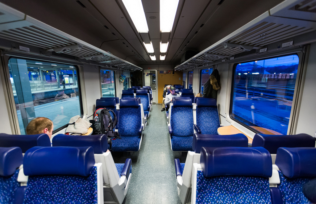 Поезд Мюнхен – Инсбрук